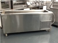 Large Well Cold Buffet Unit