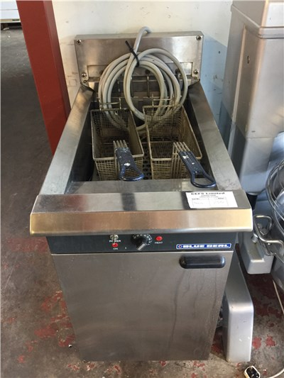 Electric Blue Seal Fryer