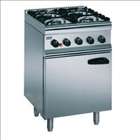 Lincat Silverlink 600 Natural Gas 4 Burner Range SLR6/N